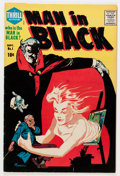 Silver Age (1956-1969):Horror, Man in Black #1 (Harvey, 1957) Condition: FN/VF....
