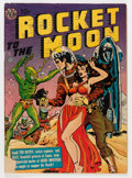 Golden Age (1938-1955):Science Fiction, Rocket to the Moon #nn (Avon, 1951) Condition: VG-....