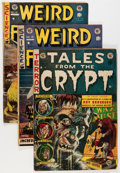 Golden Age (1938-1955):Science Fiction, EC Comics Canadian Editions Group (EC, 1950s) Condition: Average VG.... (Total: 4 Comic Books)