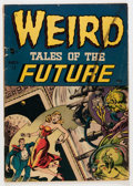 Golden Age (1938-1955):Horror, Weird Tales of the Future #1 (Aragon, 1952) Condition: VG-....