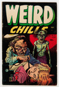 Golden Age (1938-1955):Horror, Weird Chills #1 (Key Publications, 1954) Condition: VG....