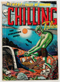 Golden Age (1938-1955):Horror, Chilling Tales #13 Double Cover (Youthful Magazines, 1952)Condition: VG....
