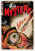 Golden Age (1938-1955):Horror, Mister Mystery #12 (Aragon, 1953) Condition: GD....