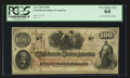 Confederate Notes:1862 Issues, T41 $100 1862 PF-59 Cr. 326A. . ...
