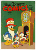 "Golden Age (1938-1955):Cartoon Character, Walt Disney's Comics and Stories #28 Davis Crippen (""D"" Copy)pedigree (Dell, 1943) Condition: VG. Carl Buettner cover. Over..."