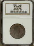 Colonials: , 1723 1/2P Hibernia Halfpenny MS64 Brown NGC. Unlisted in Breen.Large 3, pellet before H. Breen does not list a Large 3, st...