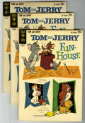 """Silver Age (1956-1969):Cartoon Character, Tom and Jerry #214 Group (Gold Key, 1963) Condition: Average NM-. Three copies of #214. 84 pages. Titled """"...Funhouse"""". Back... (Total: 3 Comic Books)"""