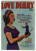 Golden Age (1938-1955):Romance, Love Diary #16 Mile High pedigree (Quality, 1951) Condition: FN.Mort Leav art. Overstreet 2006 FN 6.0 value = $24. From t...