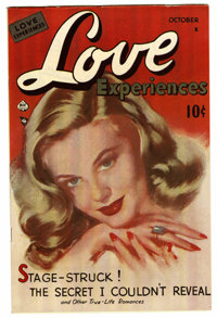 Love Experiences #1 Mile High pedigree (Ace, 1949) Condition: VF+. Painted cover. Overstreet 2006 VF 8.0 value = $80; VF...