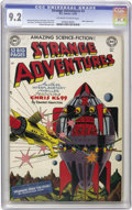 Golden Age (1938-1955):Science Fiction, Strange Adventures #3 (DC, 1950) CGC NM- 9.2 Off-white to whitepages. A 9.2 copy of a white-cover book is always a welcome ...