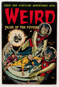 Golden Age (1938-1955):Horror, Weird Tales of the Future #6 (Aragon, 1953) Condition: VG-....