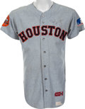 Baseball Collectibles:Uniforms, 1969 Joe Morgan Game Worn Houston Astros Jersey....
