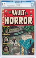 Golden Age (1938-1955):Horror, Vault of Horror #21 (EC, 1951) CGC NM- 9.2 Off-white pages....