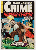Golden Age (1938-1955):Crime, Fight Against Crime #21 (Story Comics, 1954) Condition: FN-....