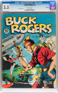 Golden Age (1938-1955):Science Fiction, Buck Rogers #1 Recil Macon pedigree (Eastern Color, 1940) CGC VG-3.5 Off-white pages....