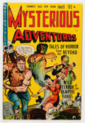 Golden Age (1938-1955):Horror, Mysterious Adventures #1 (Story Comics, 1951) Condition: VG/FN....