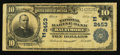 National Bank Notes:Maryland, Baltimore, MD - $5 1902 Plain Back Fr. 607 The National Marine BankCh. # (E)2453. ...