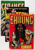Golden Age (1938-1955):Horror, Comic Books - Assorted Golden Age Horror Comics Group (VariousPublishers, 1950s) Condition: Average GD/VG.... (Total: 5 ComicBooks)