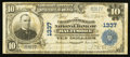 National Bank Notes:Maryland, Baltimore, MD - $10 1902 Plain Back Fr. 624 The Farmers &Merchants NB Ch. # 1337. ...