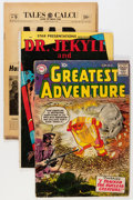 Golden Age (1938-1955):Miscellaneous, Comic Books - Assorted Autographed Golden and Silver Age Group (Various Publishers, 1950s-'60s).... (Total: 6 Comic Books)