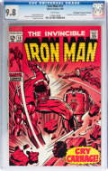 Silver Age (1956-1969):Superhero, Iron Man #13 Don/Maggie Thompson Collection pedigree (Marvel, 1969) CGC NM/MT 9.8 White pages....