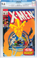 Silver Age (1956-1969):Superhero, X-Men #58 Don/Maggie Thompson Collection pedigree (Marvel, 1969) CGC NM+ 9.6 White pages....