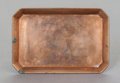 Other:American, A TIFFANY & CO. COPPER CARTE-DE-VISITE TRAY. Tiffany & Co.,New York, New York, circa 1907-1947. Marks: TIFFANY & CO.,M...