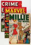 Golden Age (1938-1955):Miscellaneous, Timely Golden Age Comics Group (Timely, 1940s) Condition: Average VG+.... (Total: 7 Comic Books)
