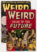 Golden Age (1938-1955):Horror, Weird Tales of the Future #2 and 5 Group (Aragon, 1952) Condition:Average FR.... (Total: 2 Comic Books)