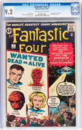 Silver Age (1956-1969):Superhero, Fantastic Four #7 (Marvel, 1962) CGC NM- 9.2 Off-white to white pages....