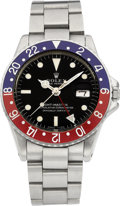 Timepieces:Wristwatch, Rolex Ref. 1675 Oyster Perpetual GMT Master, circa 1971. ...