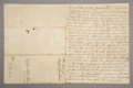 Western Expansion:Cowboy, JOSEPH TUMLINSON, REPUBLIC OF TEXAS 1845 - Bond to give good deed to his land. A manuscript document signed by him/Dewitt Co...