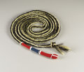 American Indian Art:Weapons, A CROW HORSEHAIR ROPE. c. 1910. ...