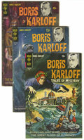 Silver Age (1956-1969):Horror, Boris Karloff Tales of Mystery Group (Gold Key, 1968-77) Condition:Average VG.... (Total: 14 Comic Books)