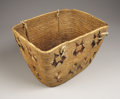 American Indian Art:Baskets, A NORTHWEST COAST UTILITY BASKET. c. 1900. ...