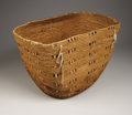 American Indian Art:Baskets, A LARGE NORTHWEST COAST UTILITY BASKET. c. 1900...