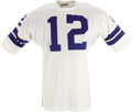 Football Collectibles:Uniforms, Early 1970's Roger Staubach Game Worn Uniform. Tony Romo may be the toast of the Lone Star State at the moment, and Troy Ai...