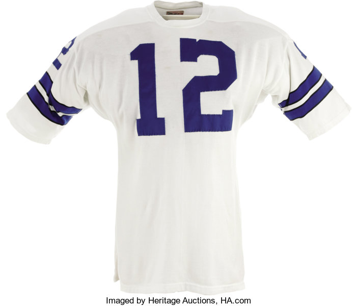 83a8fc9d807 Tony Romo may; Football Collectibles:Uniforms, Early 1970's Roger Staubach Game  Worn Uniform.