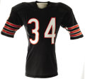 Football Collectibles:Uniforms, Circa 1986-87 Walter Payton Game Worn Jersey. Owned and operated by the inimitable Sweetness during the closing seasons of ...