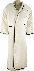 Boxing Collectibles:Memorabilia, 1978 Muhammad Ali Championship Fight Worn Robe from Leon Spinks II Bout. On September 15, 1978 former World Heavyweight Cham...