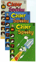 Bronze Age (1970-1979):Cartoon Character, Casper and Spooky #1-7 Group (Harvey, 1972-73) Condition: AverageNM-.... (Total: 7 Comic Books)