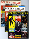 Magazines:Miscellaneous, Screen Thrills Illustrated Group (Warren, 1962-65).... (Total: 7Items)