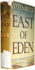 """Books:First Editions, John Steinbeck: First Trade Edition of East of Eden (NewYork: The Viking Press, 1952), first trade edition (""""bite"""" on p...(Total: 1 Item)"""