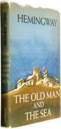 "Books:First Editions, Ernest Hemingway: The Old Man and the Sea (New York: CharlesScribner's Sons, 1952), first edition, first issue (""A"" and...(Total: 1 Item)"