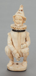 Silver Smalls:Match Safes, A GERMAN CARVED BONE EROTIC FIGURAL MATCH SAFE. Maker unknown, 19thcentury. 4-1/8 inches high (10.5 cm). From the Estate ...