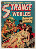 Golden Age (1938-1955):Horror, Strange Worlds #5 (Avon, 1951) Condition: GD....