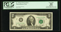 Error Notes:Mismatched Prefix Letters, Fr. 1935-B $2 1976 Federal Reserve Note. PCGS Apparent Very Fine35.. ...
