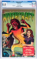 Golden Age (1938-1955):Horror, Witchcraft #1 Bethlehem pedigree (Avon, 1952) CGC VF 8.0 Off-whitepages....