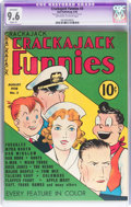 Golden Age (1938-1955):Cartoon Character, Crackajack Funnies #3 (Dell, 1938) CGC Apparent NM+ 9.6 Slight (P) Off-white to white pages....