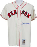 Baseball Collectibles:Uniforms, 1990's Ted Williams Signed Boston Red Sox Jersey. ...